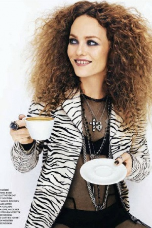 Ванесса Паради на обложке популярного глянца