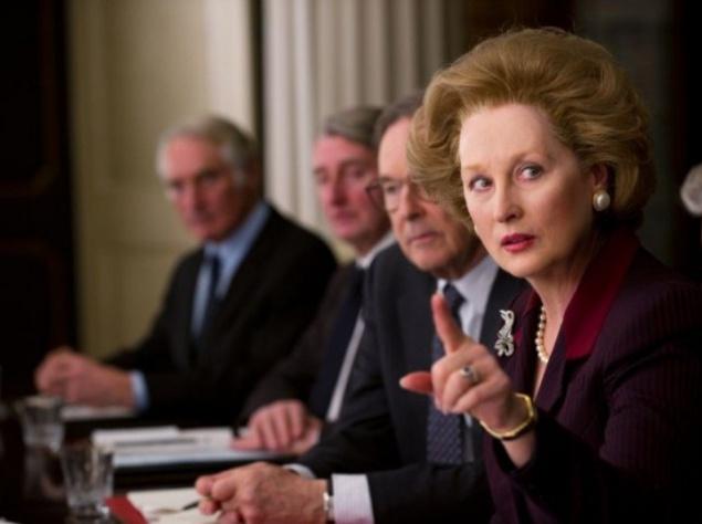 Мэрил Стрип (Meryl Streep) сыграла премьера Англии Маргарет Тэтчер в картинке