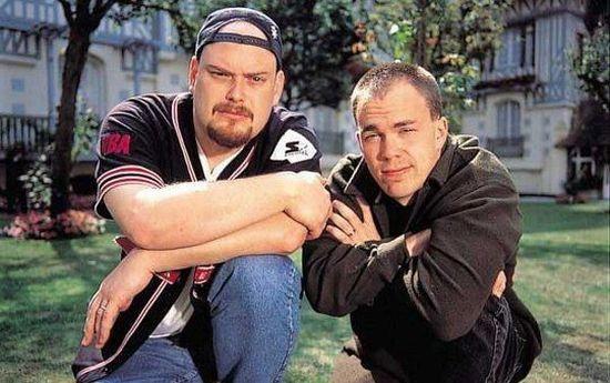 Каким он был... Подобным мужчиной был Ларри (слева), когда снимал