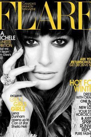 Лиа Мишель стала женщиной с обложки канадского издания Flare