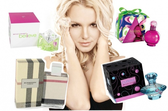 Бритни Спирс: Burberry London, Curious Britney Spears, Believe Britney Spears, Fantasy Britney Spears.