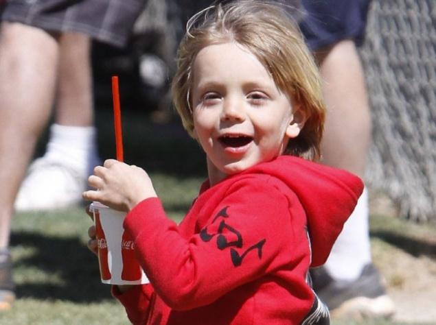 Сын Бритни Спирс и Кевина Федерлайна, Шон Престон.