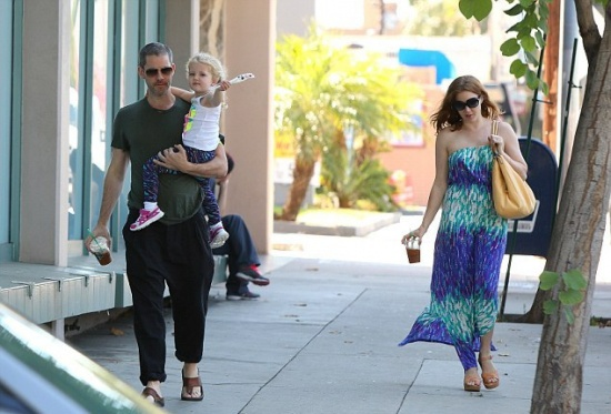 Эми Адамс и ее дочка