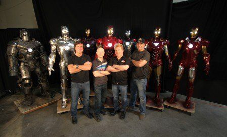 Серия этих фильмов была для нас невероятным приключением, и мы гордимся быть частью команды Marvel. Пока есть фильмы про Железного Человека, и мы приглашены поучаствовать, мы будем делать лучшие костюмы, которые может выдержать большой экран. Мы невероятно рады поделиться с вами нашим опытом, и, надеемся, вам понравился этот небольшой рассказ о создании этого эпика. Спасибо, что зашли. Надеемся, увидимся в следующем фильме!