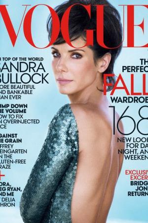 Сандра Буллок снялась для журнала