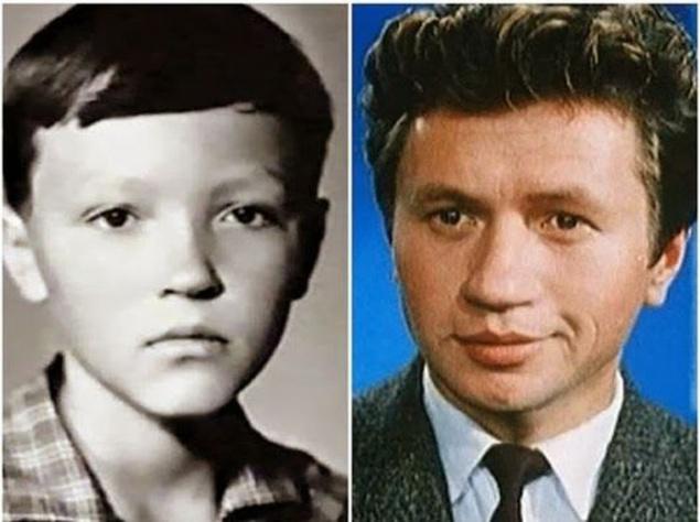 Любимые актеры СССР в детстве и зрелом возрасте (Часть 1)