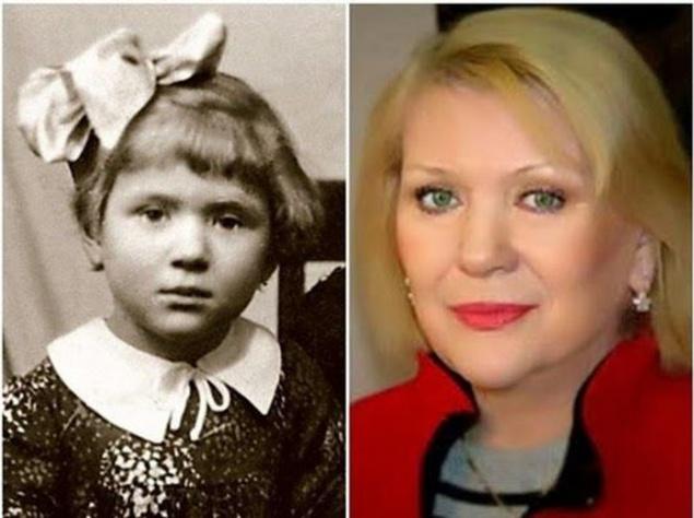Легендарные советские актрисы в детстве и в возрасте