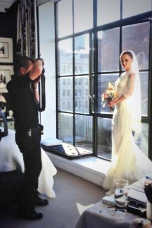 Свадебное платье Кристины Риччи