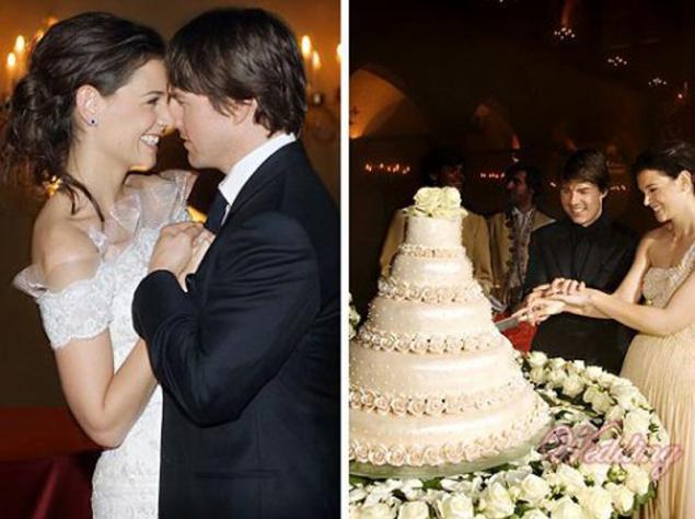 Самые красивые звездные свадьбы