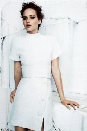Дженнифер Лоуренс в скромной фотосессии