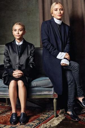 Сестры Олсен: Сдержанность и элегантность
