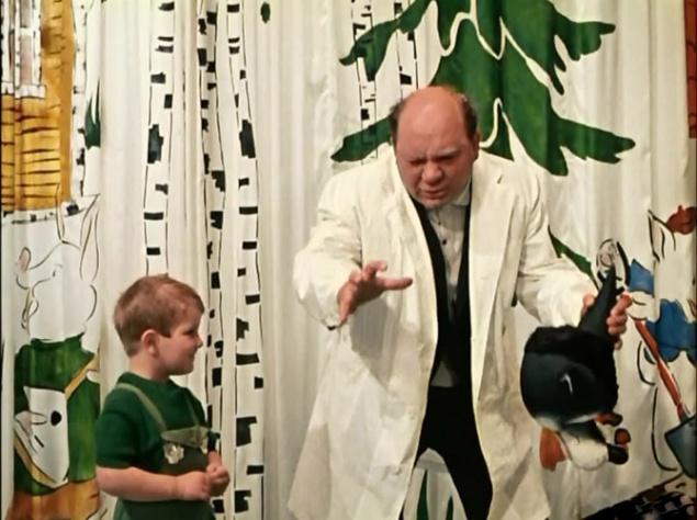 Роль воспитанника московского детского сада № 83 Игорька была сыграна Игорем Угольниковым, в будущем ставшим известным артистом. Угольников не запомнился по этой роли, и узнать по ней будущего ведущего телевизионного шоу