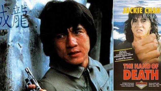 """Джеки Чан Первая роль: """"Рука смерти"""" (фильм), 1976"""