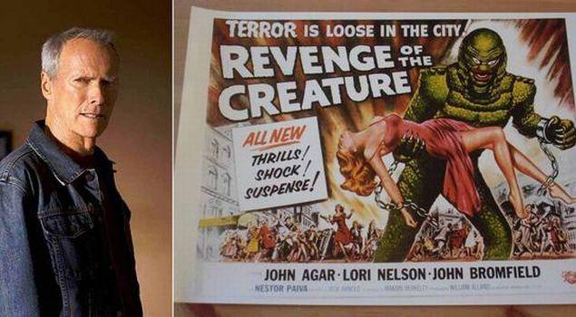 """Клинт Иствуд Первая роль: """"Месть твари"""" (фильм), 1953"""