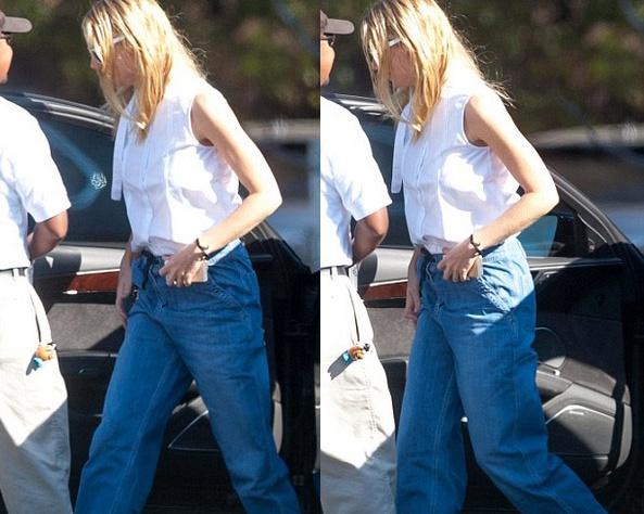 Гвинет Пэлтроу надела безобразные джинсы