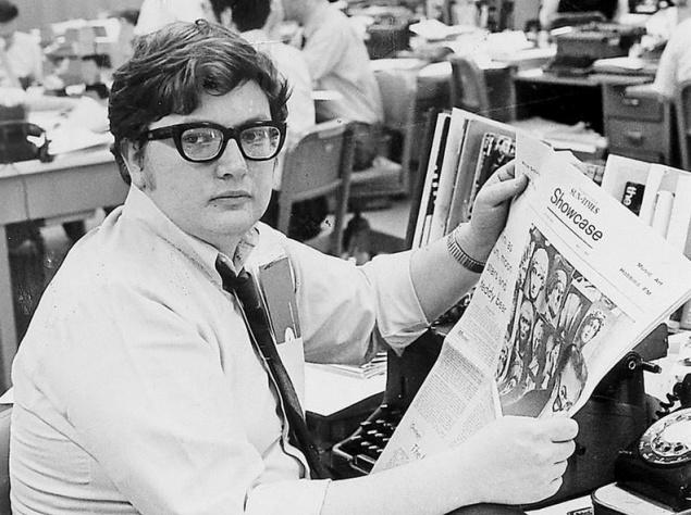 Роджер Эберт (1942-2013), американский кинокритик