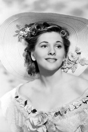 Джоан Фонтейн (1917-2013), американская актриса