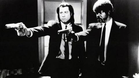 """До роли в """"Криминальном чтиве"""" Джон Траволта переживал не самое удачное время в своей карьере и за эту роль он получил """"всего"""" 100000 долларов."""