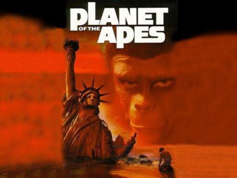 """Концовка """"Планеты обезьян"""" была написана Родом Серлингом— автором сценария """"Сумеречной зоны""""."""