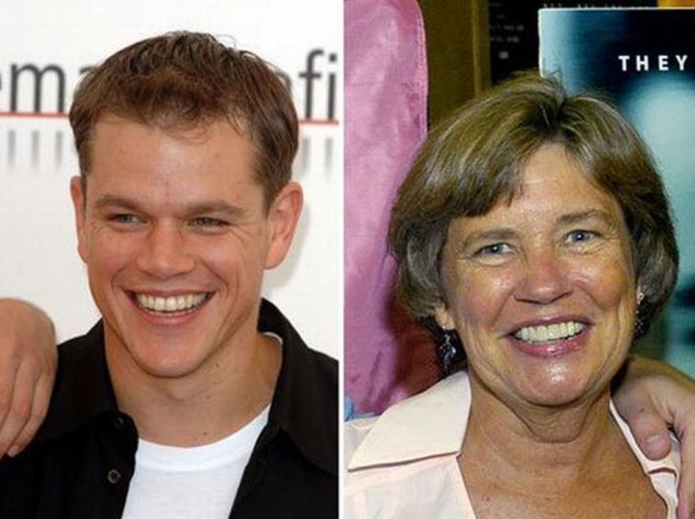 Знаменитые сыновья и их мамы
