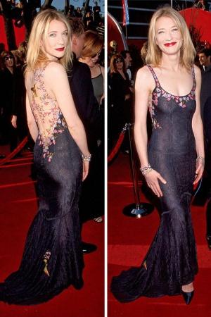 Кейт Бланшетт в платье от Galliano, 1999
