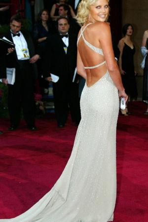 Шарлиз Терон в платье от Gucci, 2004