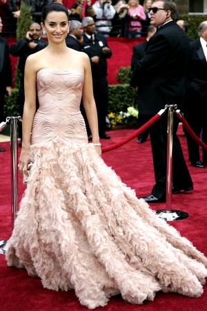 Пенелопа Крус в платье от Atelier Versace, 2007