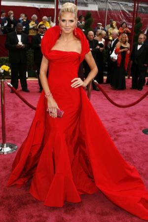 Хайди Клум в платье от Galliano, 2008