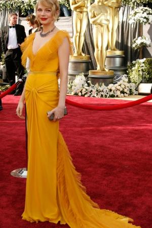 Мишель Уильямс в платье от Vera Wang, 2006