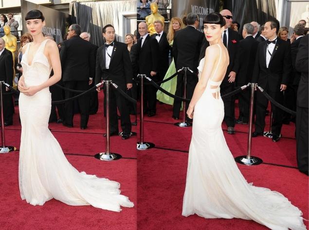 Руни Мара в платье от Givenchy, 2012