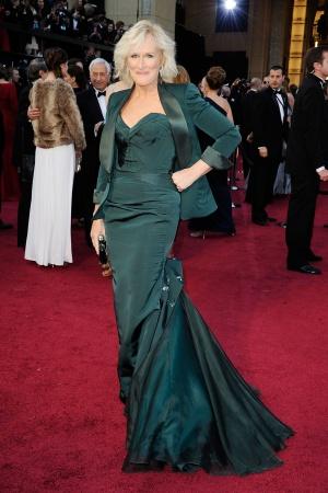Гленн Клоуз в платье от Zac Posen, 2012