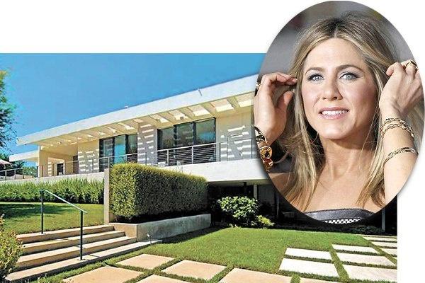 5. Дженнифер Энистон купила дом в фешенебельном районе Бель-Эйр в Нью-Йорке. $ 20.970.000
