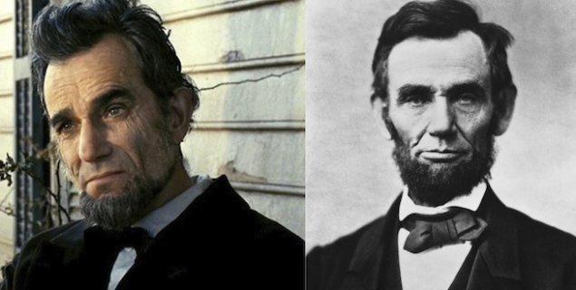 """Дэниэл Дэй Льюис и Авраам Линкольн. """"Линкольн""""."""