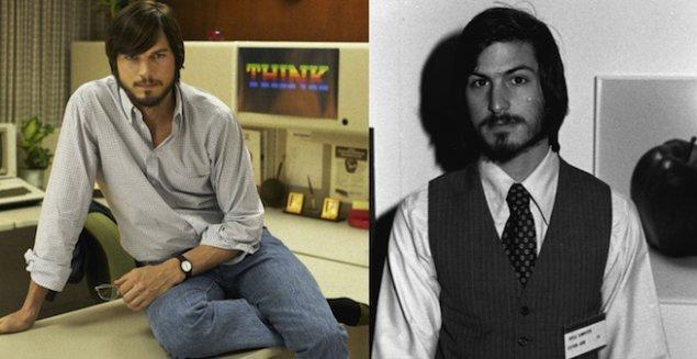 """Эштон Катчер и Стив Джобс. """"Джобс""""."""