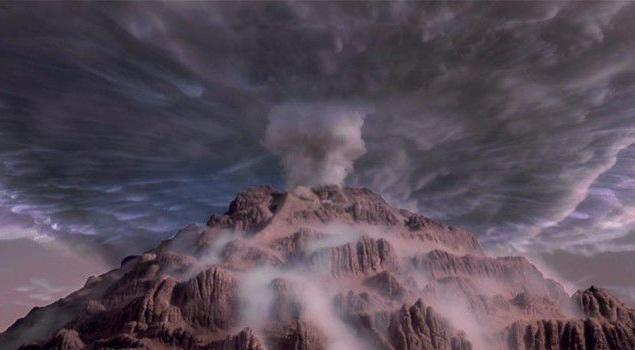 Почти все фантастические марсианские ландшафты были воссозданы в миниатюре с помощью специалистов NASA. На установку некоторых макетов приходилось тратить по несколько дней. Строго говоря, макеты были сделаны для всего, что мы видим на экране (поезда, автомобили, космический корабль, кислородный реактор). В ряде случаев приходилось делать несколько миниатюрных образцов одной и той же вещи.