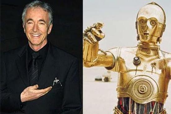 Беседа – вот подлинное призвание человека-робота C-3PO из Звездных войн. Его представляет актер Энтони Даниэлс (Anthony Daniels). Все фразы, которые произносит C-3PO, от первого предложения в первом фильме и до последнего – принадлежат только ему.