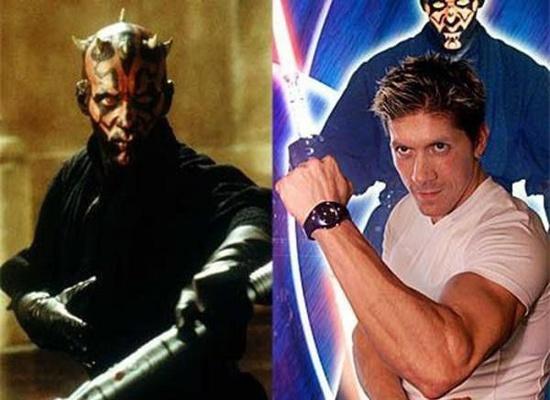 Лукас долго не мог найти исполнителя на роль Дарт Маула (Darth Maul) в фильме Эпизод 1. Скрытая угроза, вышедшем в 1999 году. Эту роль досталась каскадеру Рэю Парку. Этот левша попал в актеры из-за своих навыков фехтования на мечах. Успех Звездных войн способствовал тому, что дублер многих актеров сыграл в первом фильме X-Men.