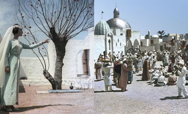 """""""Волшебная лампа Аладдина"""" - фильм 1966-го года по мотивам сказки """"Аладдин и волшебная лампа"""" из сборника """"Тысяча и одна ночь"""". Режиссер - Борис Рыцарев. Весь """"Багдад"""" был построен в Крыму."""