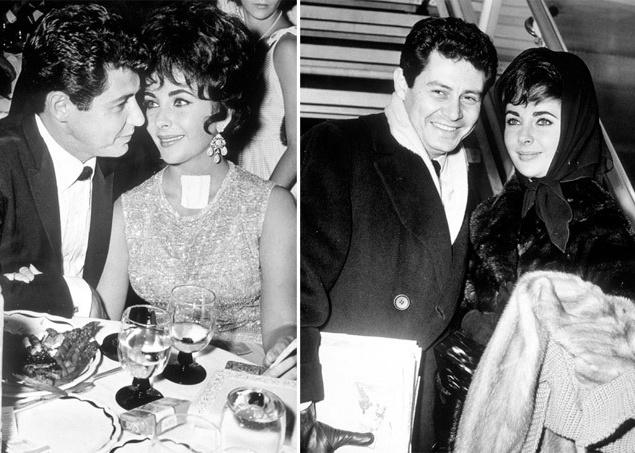 """Лучший друг покойного Тодда, свидетель на их с Лиз свадьбе, певец Эдди Фишер (Eddie Fisher) тоже был иудеем. Он настолько старательно помогал безутешной вдове, что влюбился в нее. Супруга Фишера, актриса Дебби Рейнольдс, недавно родила второго ребенка, позже они с Лиз помирились и даже вместе снимались в кино. Эдди и Лиз поженились 12 мая 1959 года. По медицинским причинам у пары не могло быть своих детей, и они занялись процессом по удочерению ребенка. Вскоре подоспели съемки знаменитой ленты """"Клеопатра"""". На съемочной площадке у Лиз разгорелся бурный роман с партнером по съемкам, приведший к очередному разводу."""