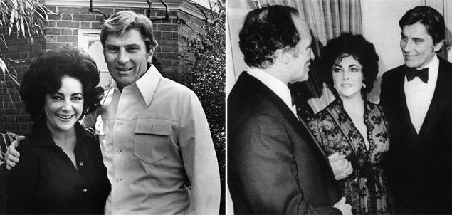 """4 декабря 1976 года Тейлор вышла замуж за политика Джона Уорнера (John Warner), который утверждал, что до знакомства с кинодивой не видел ни одного фильма с ее участием. При активной поддержке Лиз, в 1979 году ее супруга избрали в сенат штата Вирджиния. Сама актриса в это время очень много пила и ела. Избавившись от алкогольной зависимости и от ожирения, Тейлор с успехом сыграла главную роль в бродвейской постановке пьесы Лилиан Хеллман """"Лисички"""". 7 ноября 1982 года супруги расстались."""