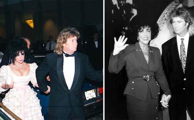 Последний муж Элизабет Тейлор, строитель Ларри Фортенски (Larry Fortensky) был на 20 лет моложе супруги. Он был дважды женат и от первого брака имел дочь. Кинозвезда и пролетарий познакомились в клинике для пациентов, страдающих от алкогольной и наркотической зависимости, Betty Ford Center. На роскошную церемонию бракосочетания, которая происходила на ранчо Майкла Джексона, приехали голливудские знаменитости и бывшая первая леди Нэнси Рейган. 6 октября 1991 года Лиз в седьмой раз надела на свой пальчик обручальное кольцо, чтобы навсегда снять его 31 октября 1995 года.