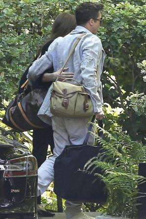 Анджелина Джоли провела романтический уикенд с любимым