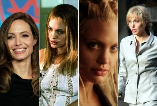 """Анджелина Джоли была блондинкой в фильмах """"Прерванная жизнь"""", """"Угнать за шестьдесят секунд"""", """"Солт"""""""