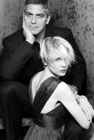 Рене Зеллвегер. Согласно Клуни пара встречалась немного в 2001 году и в 2003.
