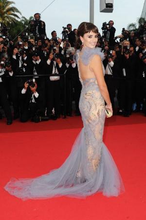 Пенелопа Крус в платье от Marchesa, 2011 год