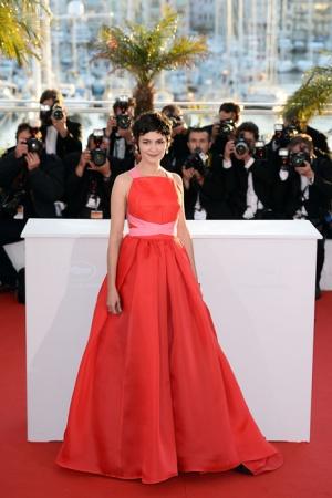 Одри Тоту в платье от Валентино, 2013 год