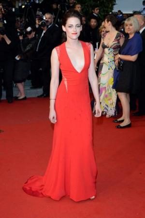 Кристен Стюарт в кружевном платье от Reem Arca, 2012 год