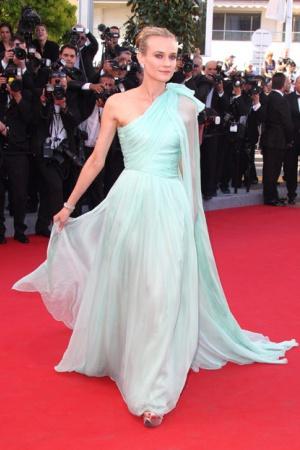 Диана Крюгер в платье от Шанель, 2012 год