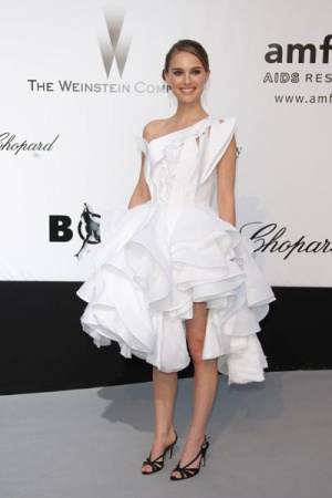 Натали Портман в платье от Givenchy, 2008 год
