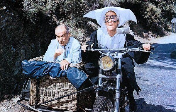 """Кадр из фильма """"Жандарм женится"""""""